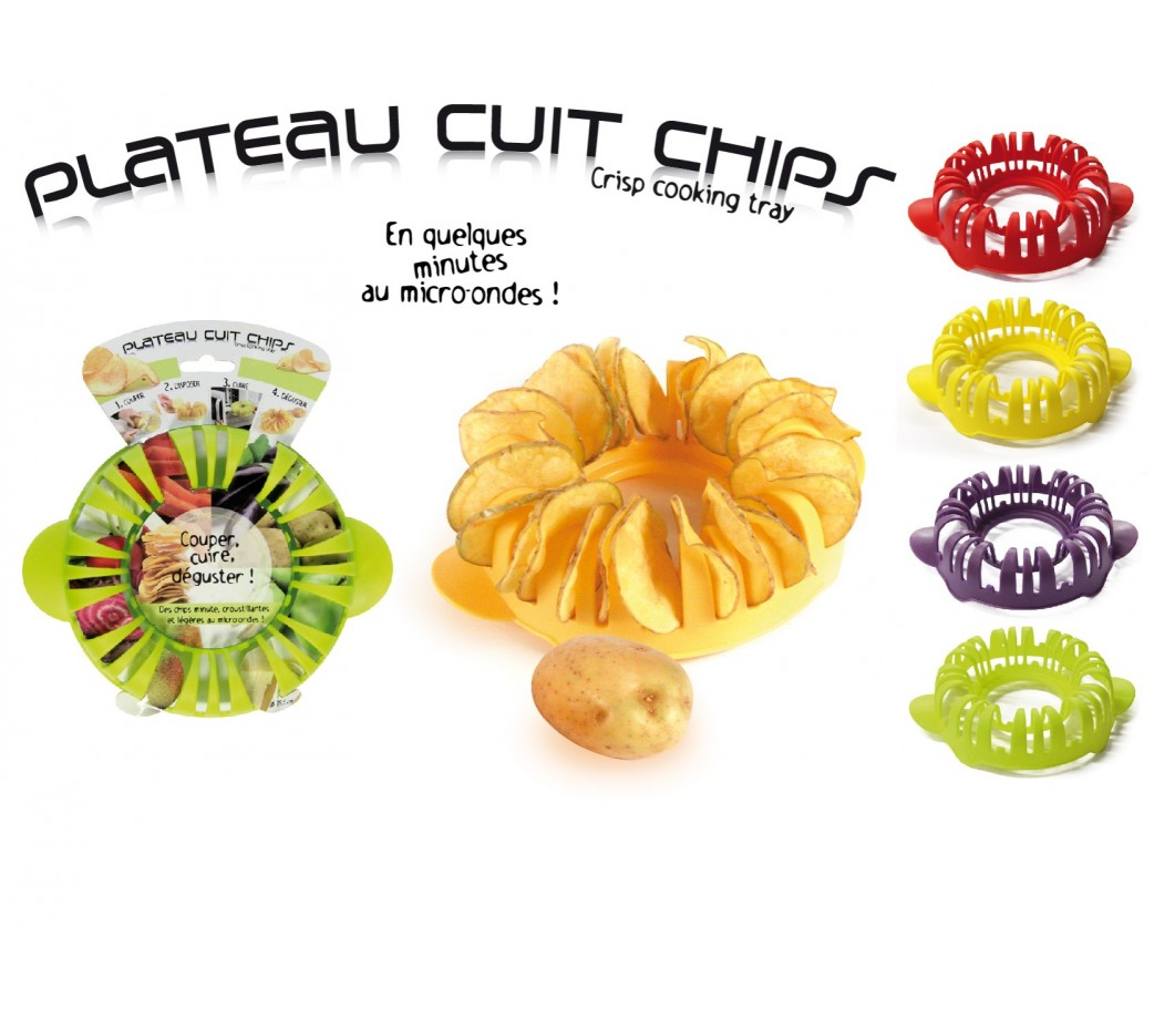 Cuit chips micro ondes plastique pas cher cuisy for Chips betterave micro onde